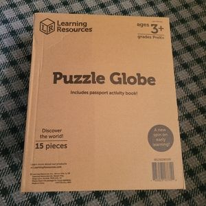 Learning Resources Toy Puzzle Globe 3+